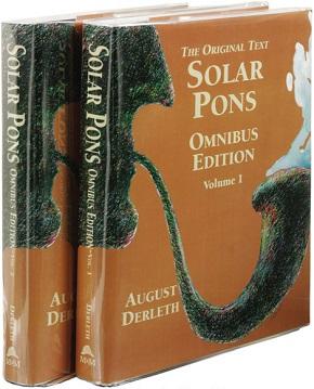 <i>The Original Text Solar Pons Omnibus Edition</i> book by August Derleth