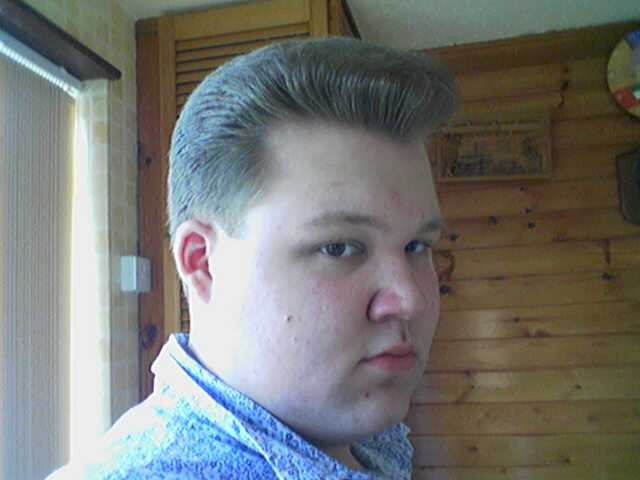Psychobilly Hairstyle Men A psychobilly wedge