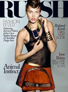 Russh Magazine August/September on Sale Aug. 6, 2015