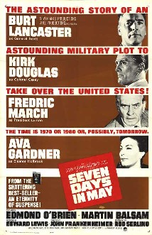 Seven Days in May theatrical release poster