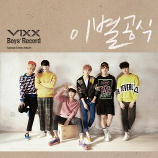 <i>Boys Record</i> 2015 single album by VIXX