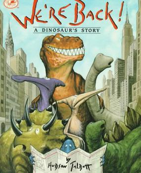 Were back a dinosaurs story book
