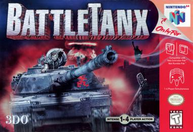 BattleTanx for the Nintendo 64