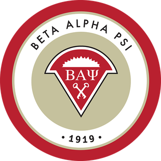 Beta Alpha Psi's new logo introduced on April 26, 2013