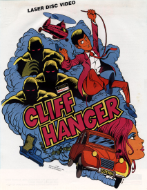 Arcade flyer of Cliff Hanger.