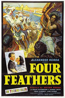 Four Feathers 1939.jpg The Four Feathers 1939 film Wikipedia the free encyclopedia 400x606 Movie-index.com