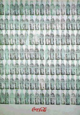 andy warhol green coca cola bottles