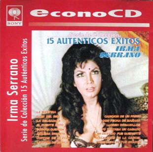 <i>15 auténticos éxitos</i> (Irma Serrano album) 1984 greatest hits album by Irma Serrano