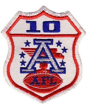 newest 77df2 62fb6 Ten-year AFL patch - Wikipedia