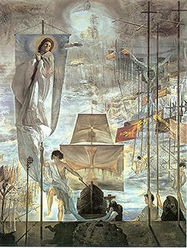 an analysis of christopher columbus in discovering the americas The discovery of america by christopher columbus was painted in 1959 by  salvador dalí dali was one of the greatest artists of the twentieth century, who.