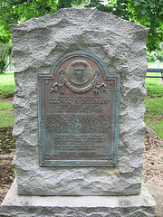 Memorial to George Breeman within Veteran's Memorial Park in Passaic, New Jersey