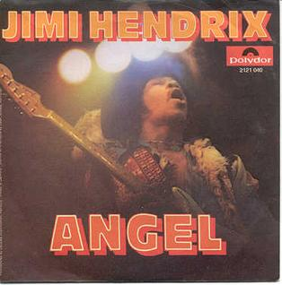 Angel (Jimi Hendrix song) 1971 song by Jimi Hendrix