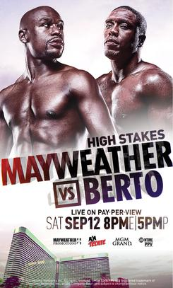 Andre Berto Mayweather Always Looking At Something In The Ring