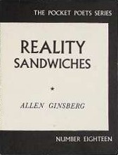 <i>Reality Sandwiches</i> book by Allen Ginsberg