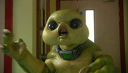 A Slitheen.  Raxacoricofallapatorian.  Whatever.