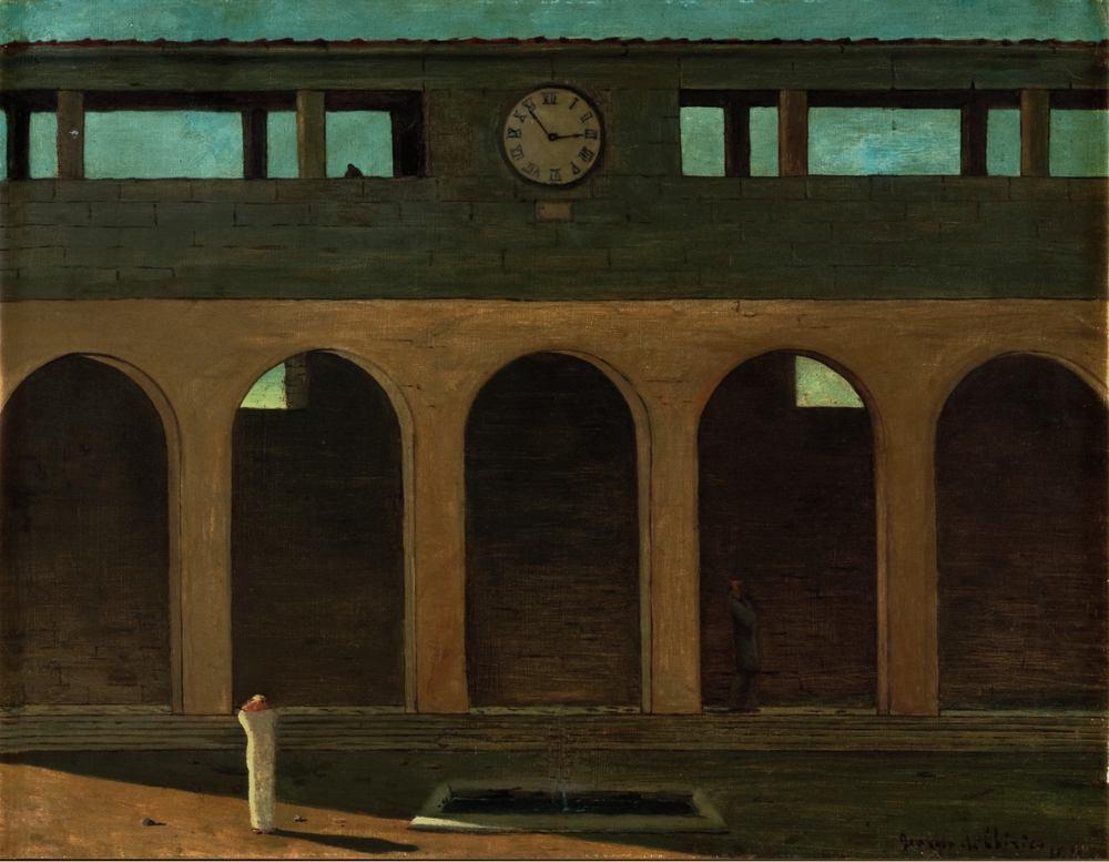 L'énigme de l'heure, par Giorgio de Chirico