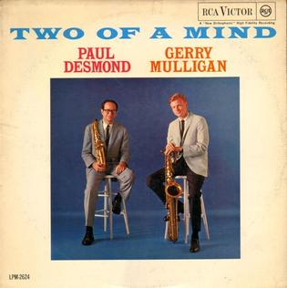 Paul Desmond Gerry Mulligan Two Of A Mind