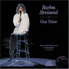 <i>One Voice</i> (Barbra Streisand album) 1987 live album by Barbra Streisand