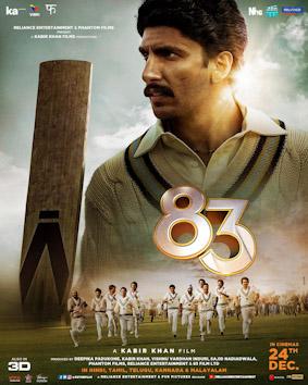 <i>83</i> (film) 2021 film by Kabir Khan