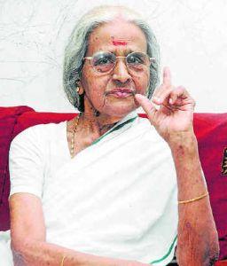 Aranmula Ponnamma Indian actress