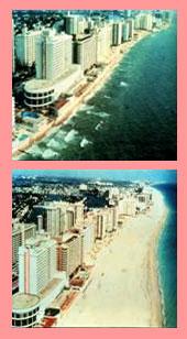 Before And After Photos Of Beach Restoration Efforts Florida Coastline Nourishment