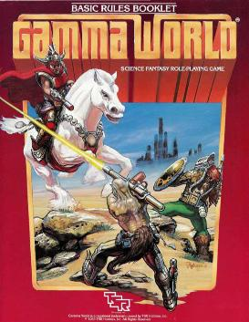 Picture of a game: Gamma World