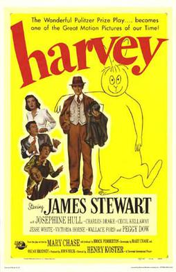 Movie poster for Harvey (1950)