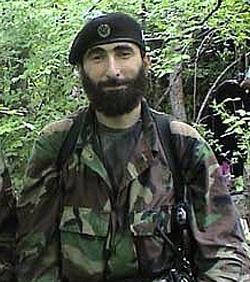 Ali Taziev Russian rebel