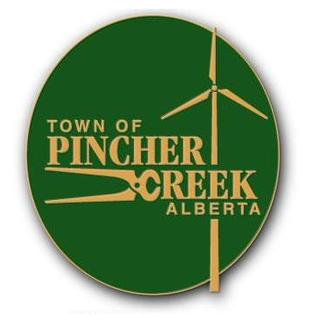 Pincher Creek Town in Alberta, Canada