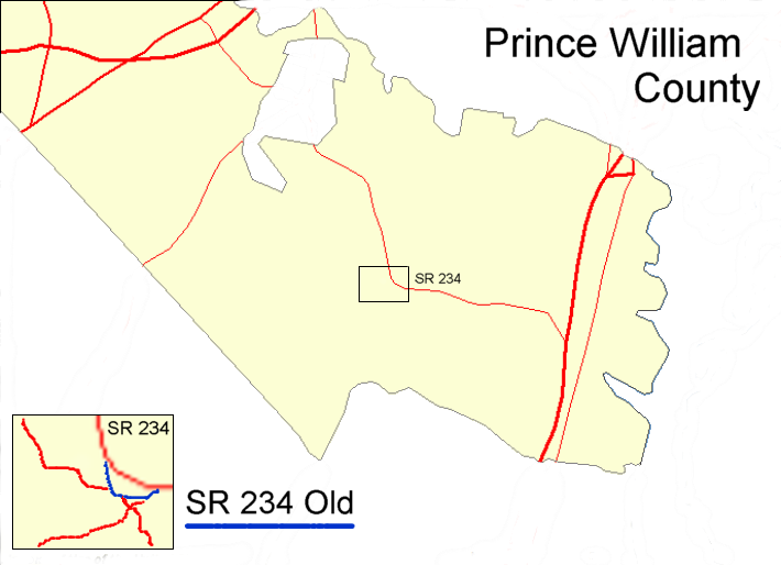 prince william county. Prince William County Map