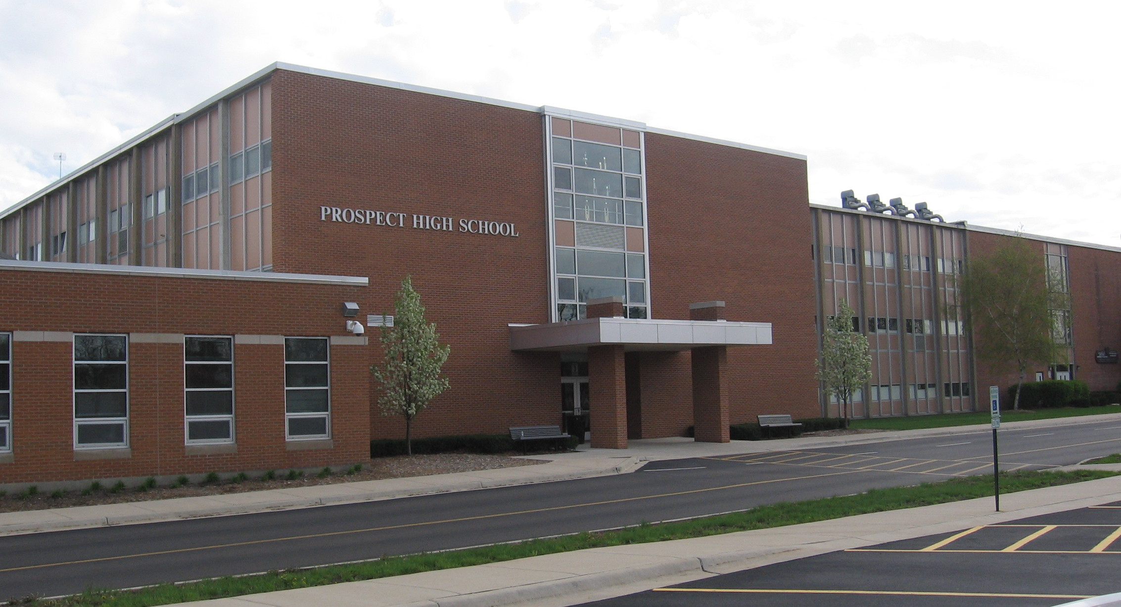 File Prospect High School Il Jpg Wikipedia