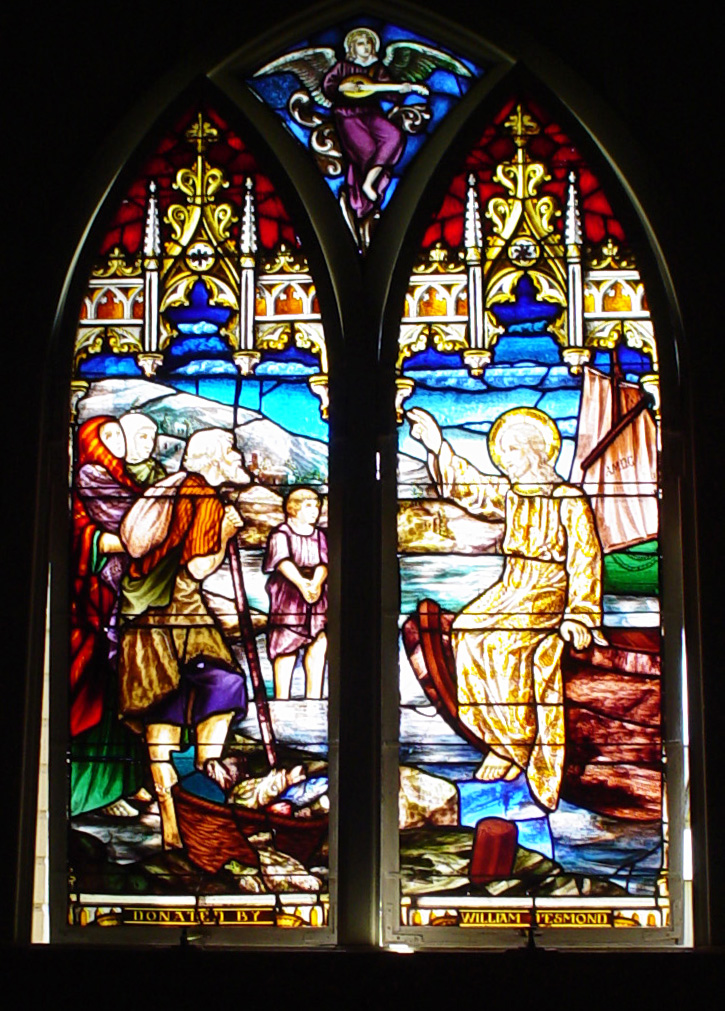 history of stained glass. Stained Glass Jesus Calls