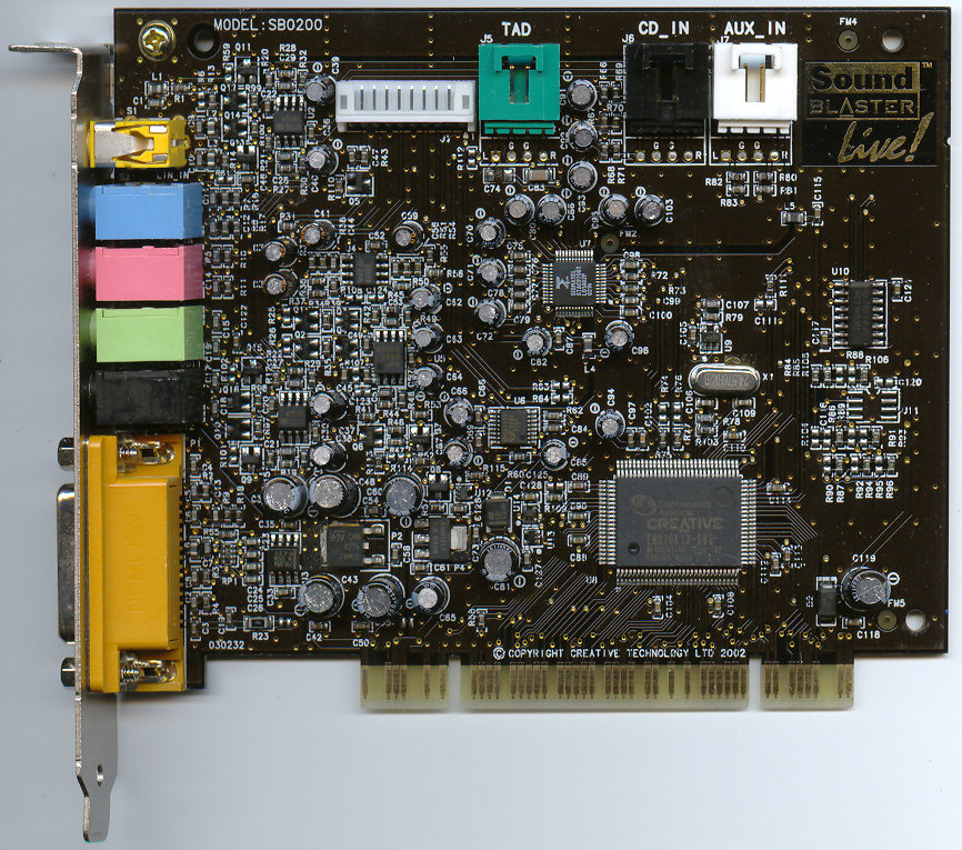 CREATIVE EMU10K1 JFF SOUND CARD DRIVER (2019)