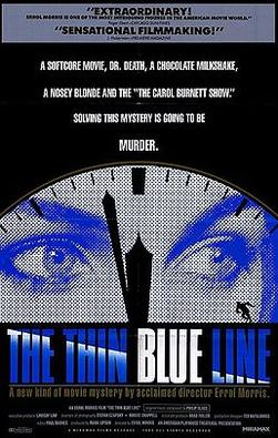The Thin Blue Line (1988) movie poster