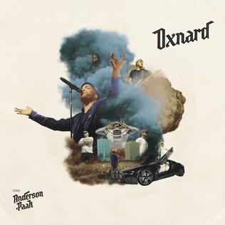 <i>Oxnard</i> (album) 2018 studio album by Anderson Paak