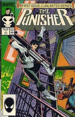 Resultado de imagem para Punisher n 1 1987