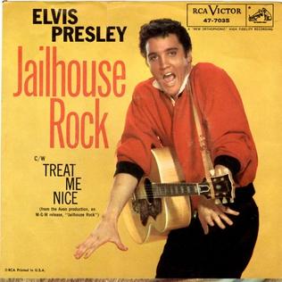Jailhouse Rock (song) 1957 single by Elvis Presley