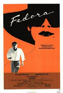 Fedoraposter Billy Wilder   Fedora (1978)