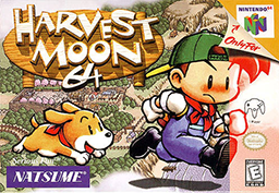 Picture of a game: Harvest Moon 64