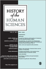 History of the Human Sciences journal front cover.jpg