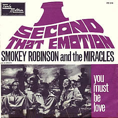 I Second That Emotion 1967 single by The Miracles