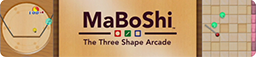 MaBoShi - The Three Shape Arcade Logo.png