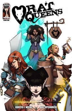 Picture of a book: Rat Queens