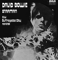 Cover image of song Starman by David Bowie