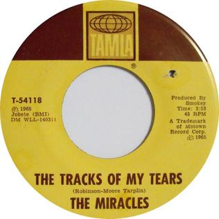The Tracks of My Tears 單曲版本