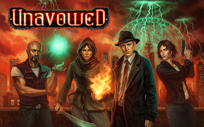 Picture of a game: Unavowed