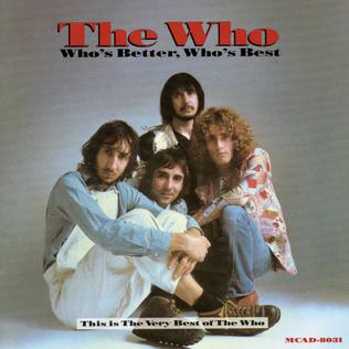 <i>Whos Better, Whos Best</i> 1988 greatest hits album by The Who