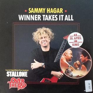 Winner Takes It All (Sammy Hagar song) 2021 single by Sammy Hagar