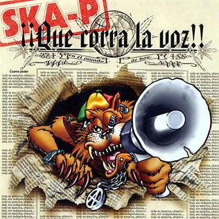<i>¡¡Que Corra La Voz‼</i> album