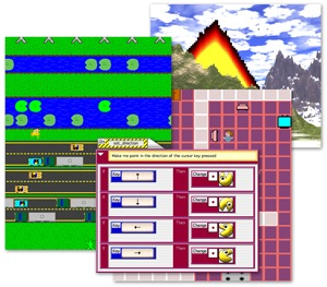 AgentSheets cyber learning tool to teach students programming and related information technology skills through game design